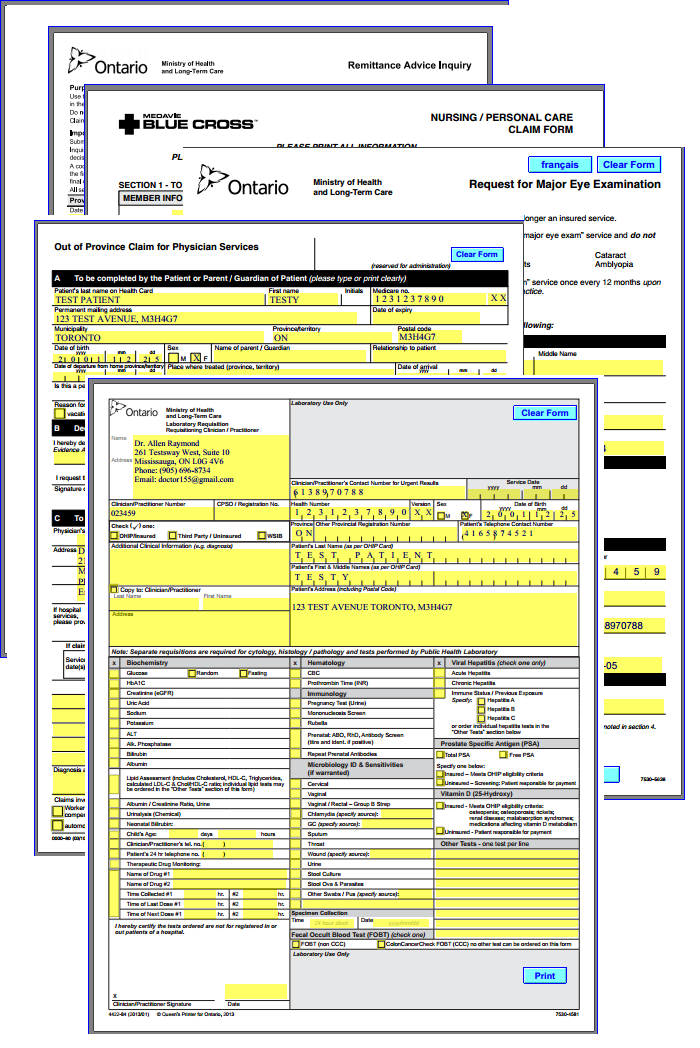 Auto-Fill OHIP Forms | Hype Medical on medical financial forms, medical records forms, medical diagnosis forms, printable medical forms, medical scheduling forms, medical documentation forms, medical registration forms, medical credentialing forms, medical auditing forms, workers compensation forms, medical quality assurance forms, medical treatment forms, medicare medical necessity forms, medical information forms, medical transcription forms, medical clearance for surgery form, medical referral forms, medical records manager, medical legal forms, medical aging reports,